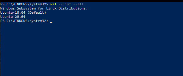 在Windows 10上运行Podman | Windows Server 2019 with WSL2