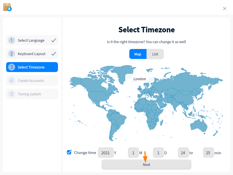 TimeZone-For-Deepin-20-1-System