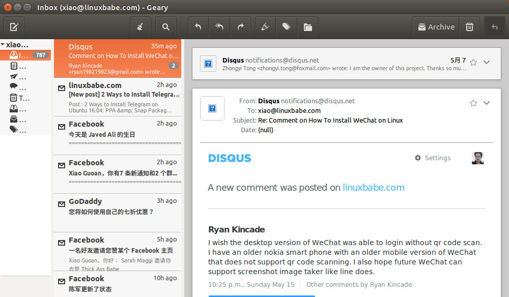 Geary Email Client 0.11发布-如何在Linux上安装