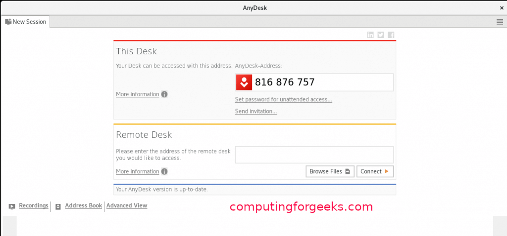 How to install AnyDesk on Fedora 31/30/29
