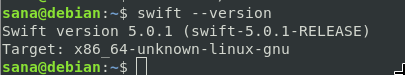 Check swift compiler version
