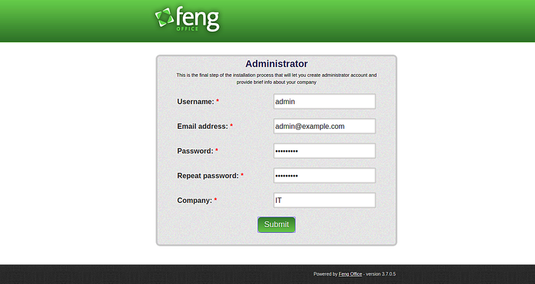 Sign in to Feng
