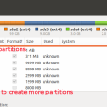 Create additional GPT partitions