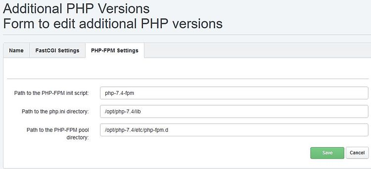 How to compile and install PHP 7.4 as PHP-FPM and FastCGI for ISPConfig 3 on Ubuntu 18.04 LTS