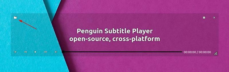 Add subtitles to the penguin subtitle player