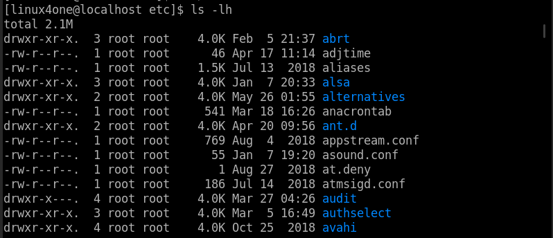 17 The most practical example of the ls command on Linux