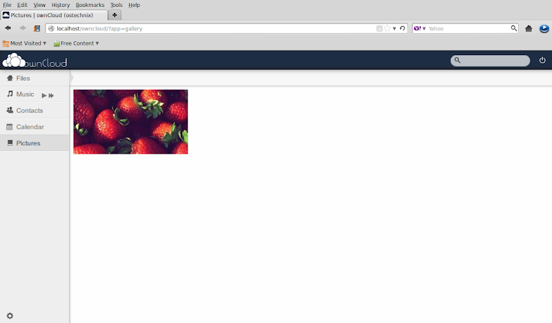 Owncloud – Setup your local own cloud server