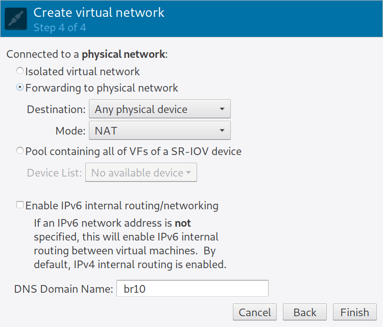 How to create and configure a bridge network for KVM in Linux