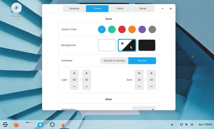 Zorin Os 15 review theme timeline