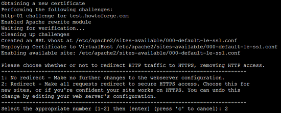 Redirecting HTTP requests