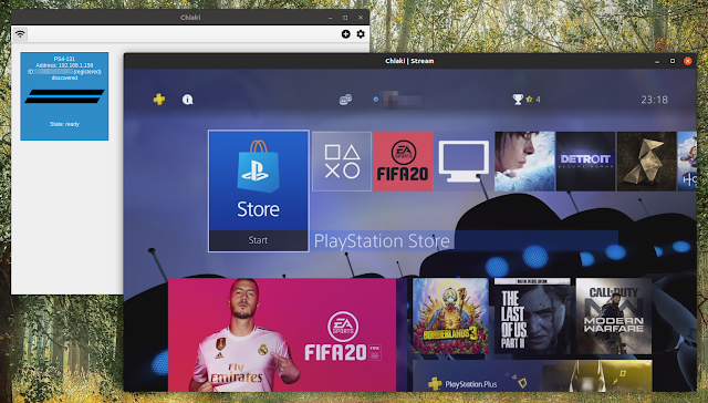 Play PlayStation 4 games remotely on Linux desktop with Chiaki