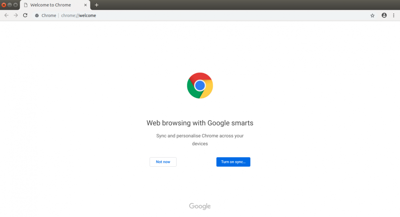 How to install Google Chrome-turn on sync