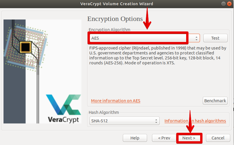 Use AES Encryption
