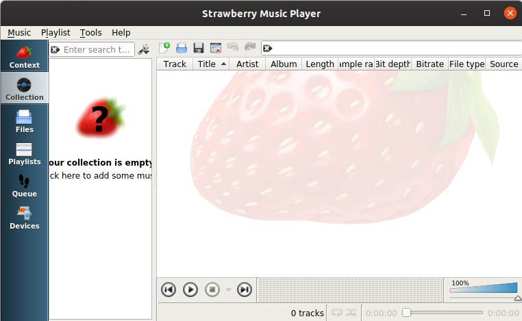How to install Strawberry Music Player on Ubuntu