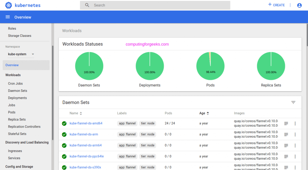 How to create an admin user to access Kubernetes dashboard