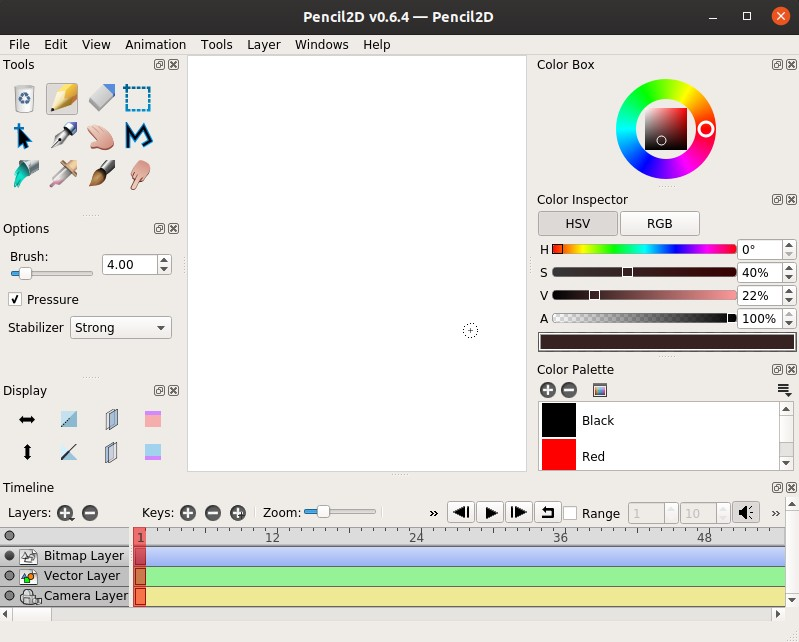 How to install Pencil2D on Ubuntu – 2D hand-drawn animation maker