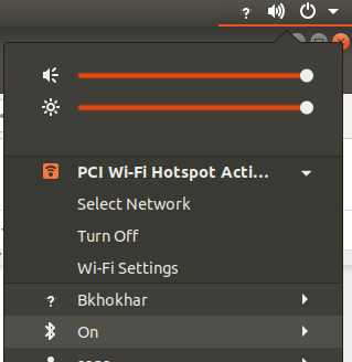 An alternative way to turn off the W-Lan access point.