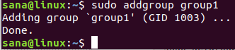 Add Linux Group