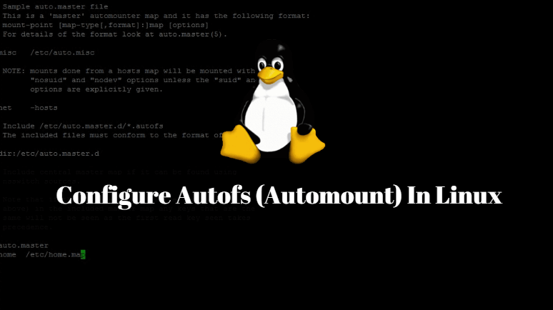 How to configure automount on Linux