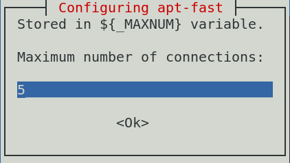 configure maximum number of connections