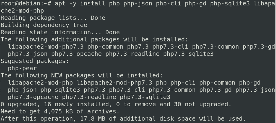Installing the PHP Scripting Language