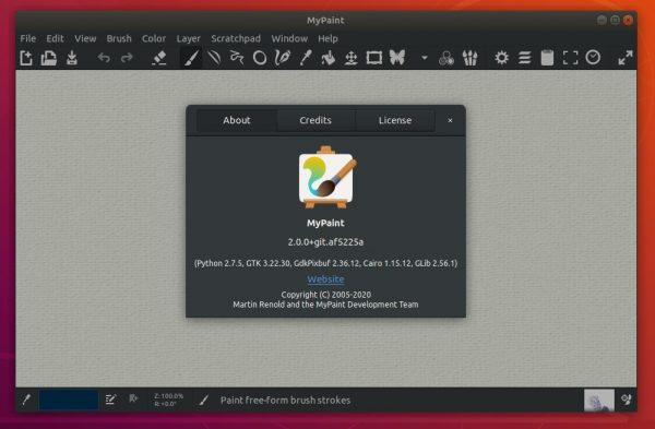 MyPaint 2.0 Released with New Layer Mode, Linear Compositing