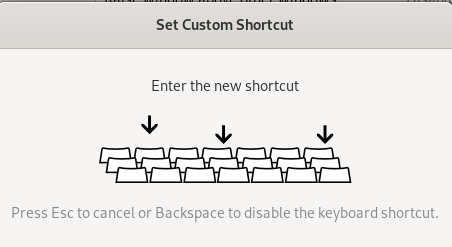 Choose a keyboard shortcut for quick access.