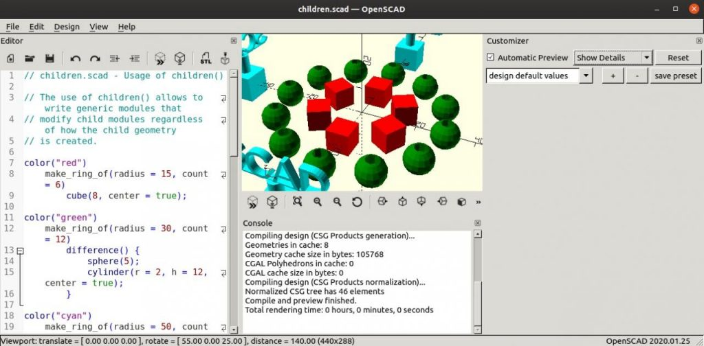 How to Install OpenSCAD on Ubuntu – 3D CAD Modeller
