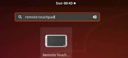 Remote touchpad: control mouse and keyboard from mobile phone