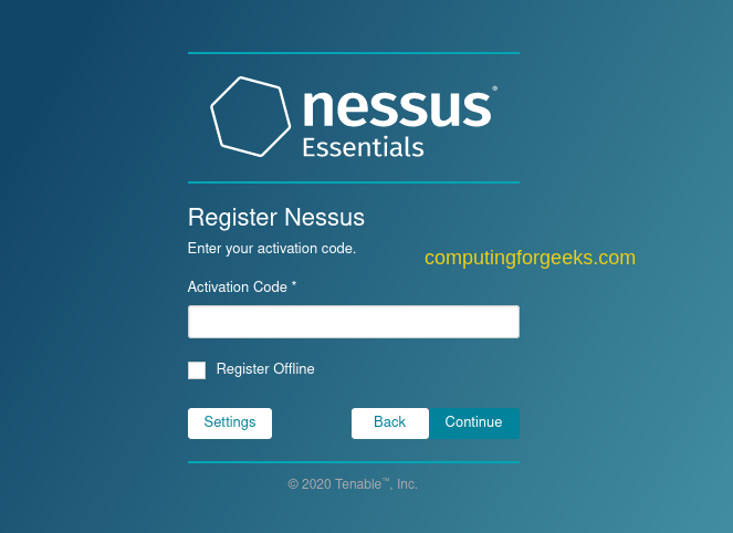 Install Nessus Vulnerability Scanner on Kali Linux 2020.x