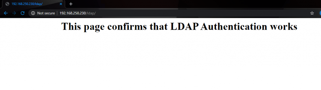Protect Apache web pages with LDAP authentication