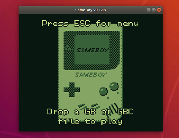 SameBoy – Powerful Game Boy emulator available as a snap