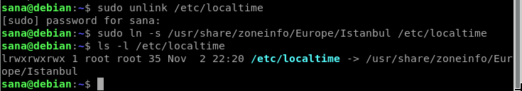 Local time not set