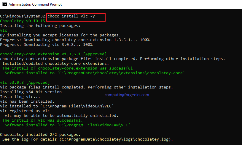 Manage applications on Windows with Chocolatey software management tools
