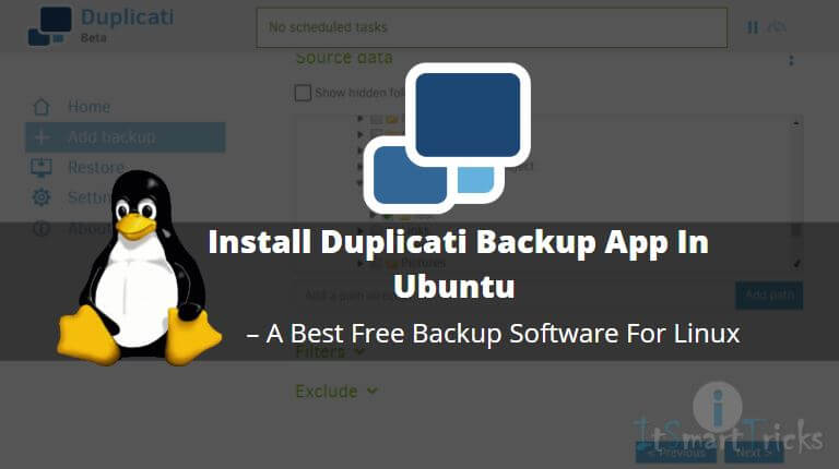 How to Install Duplicati Backup App In Ubuntu – A Best Free Backup Software For Linux