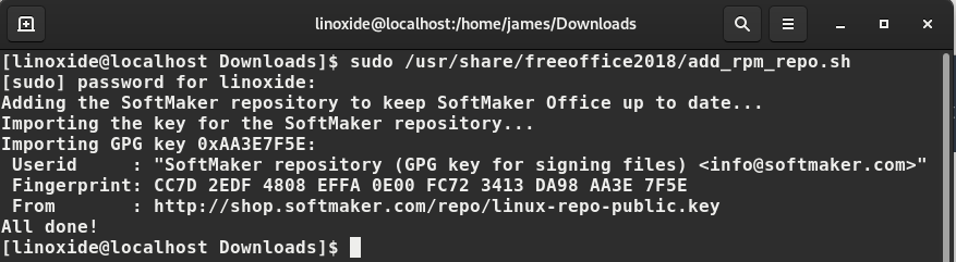 How to install FreeOffice on Linux (latest)