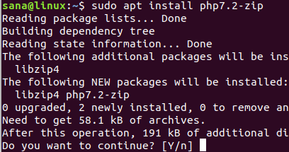 Install PHP add-on