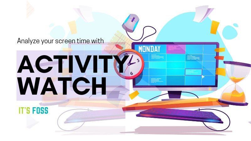 Use ActivityWatch to track screen time in Linux