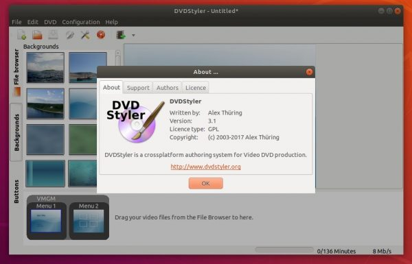 How to Install DVDStyler in Ubuntu 20.04 LTS