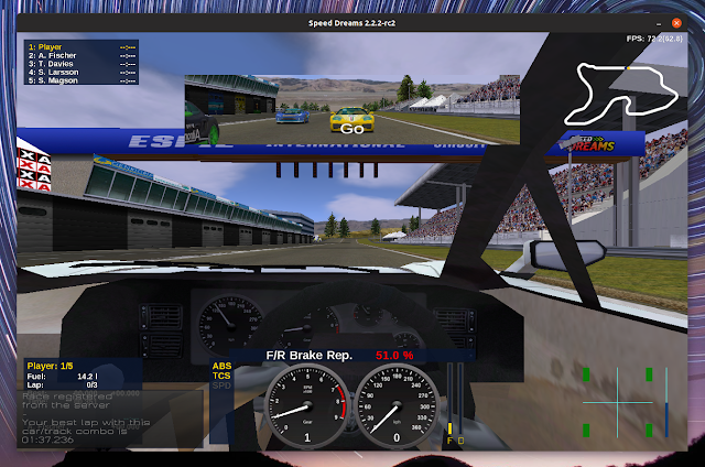 Speed ​​Dreams 2.2.2 rc2