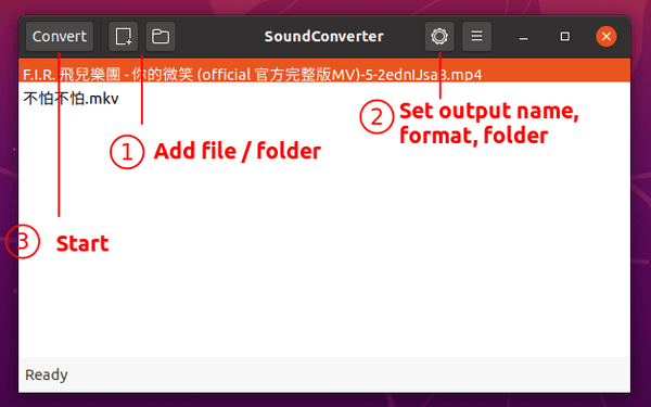 How to Easily Convert Video Files to MP3 in Ubuntu 20.04