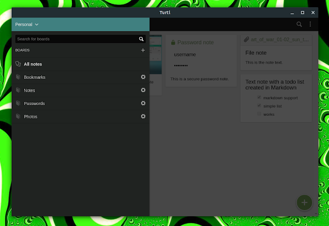 Encrypted Evernote replaces Turtl v0.7 including rewritten server, new space features