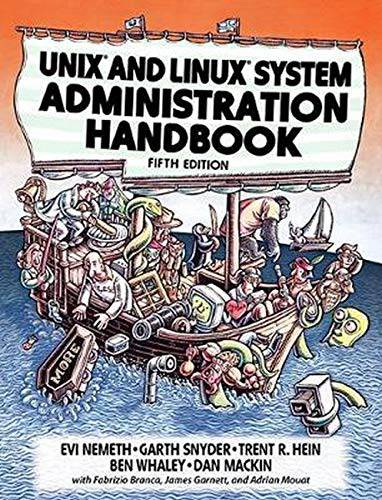 UNIX and Linux System Administration Manual (5th Edition)