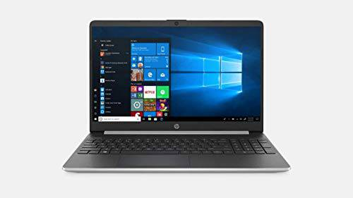 2020 HP 15 15.6-inch high-definition touch screen premium laptop-10th generation Intel Core i5-1035G1, 16GB DDR4, 512GB SSD, USB Type-C, HDMI, Windows 10-Silver W