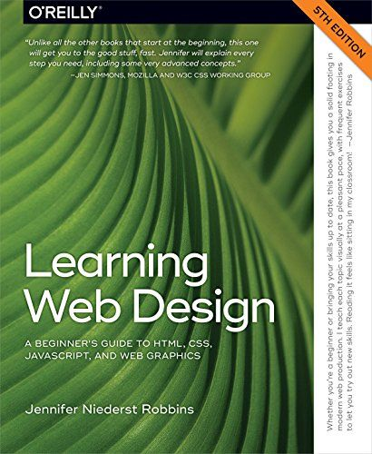 Learn web design: HTML, CSS, JavaScript and Web graphics primer