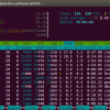 htop monitoring tool in action