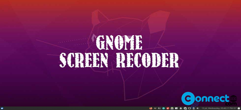 Record Ubuntu desktop screen using hidden GNOME screen recorder