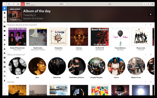 How to install the latest Lollypop music player on Ubuntu 20.04
