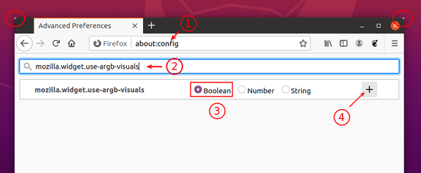 How to Remove the Header Bar in Firefox on Ubuntu 20.04