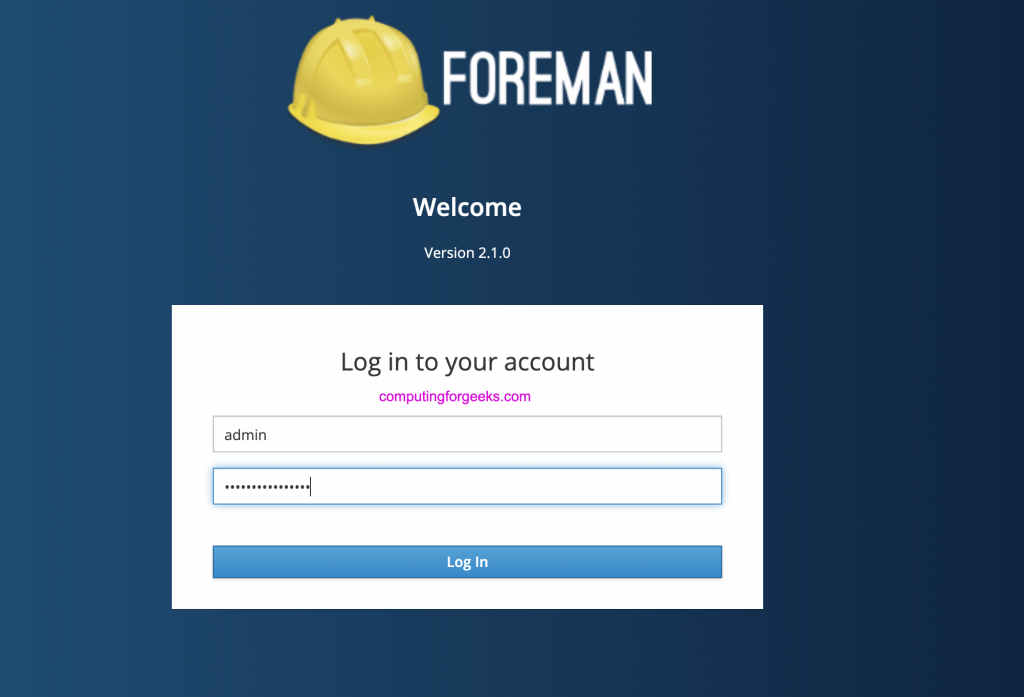 How to install Foreman on CentOS 8 / RHEL 8